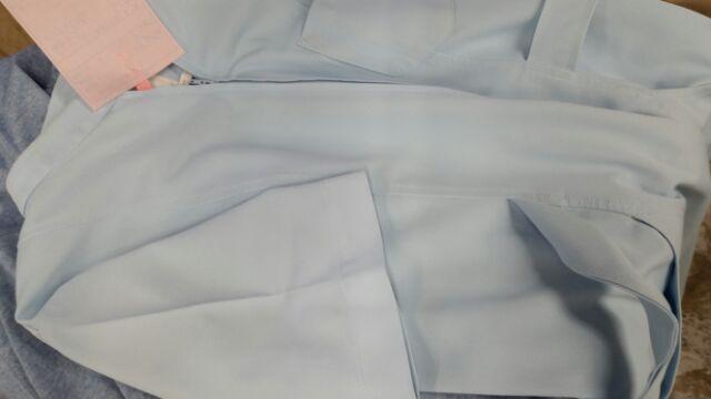 白衣のインクのしみ抜き アフター