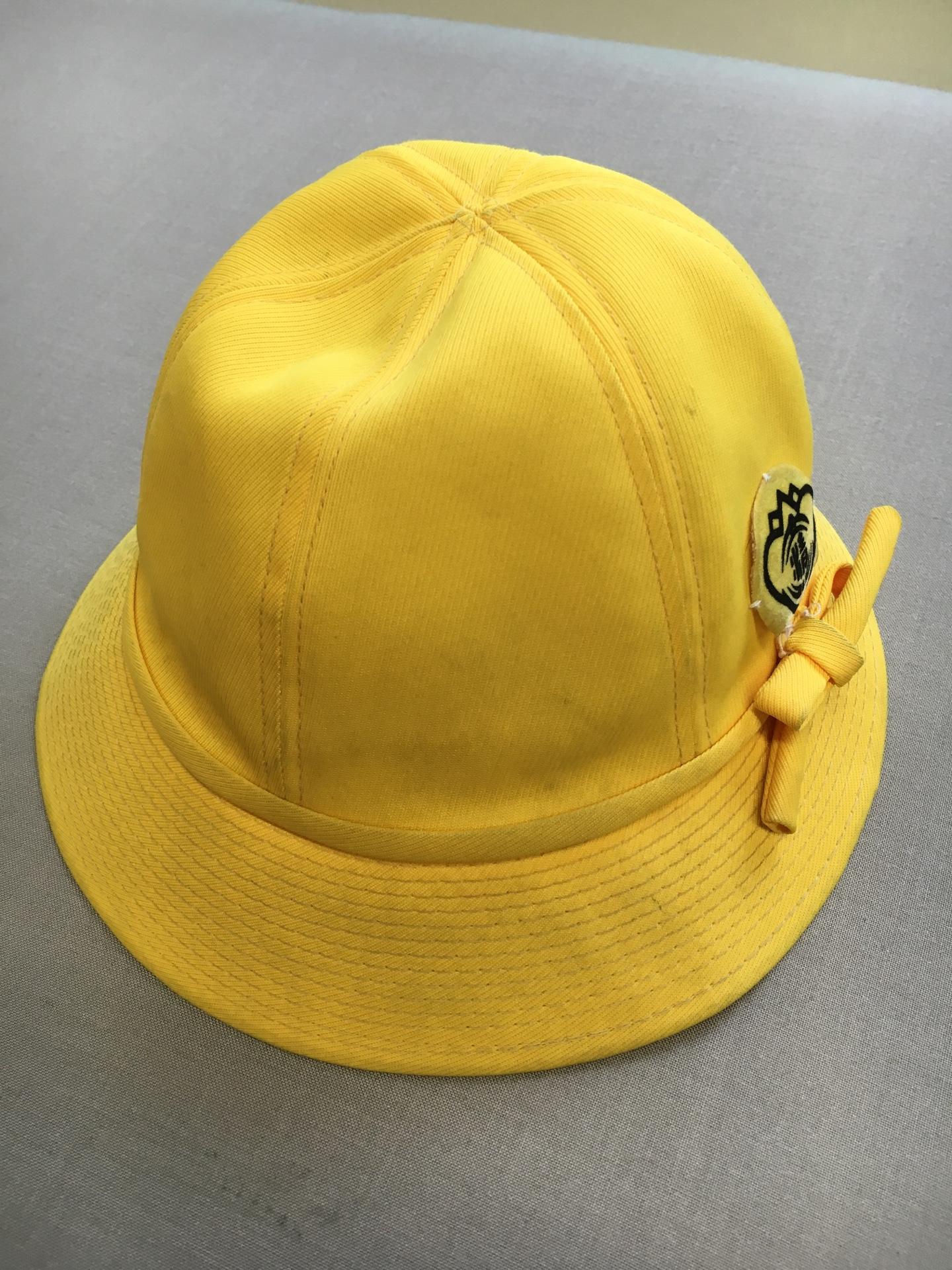 帽子の汚れ02 ビフォー